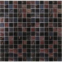 Buy cheap KG285 Low price mixed color 3d swimming pool glass mosaic from wholesalers