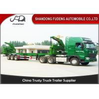 Wholesale 40ft Sidelifter Container Trailer , Port Self Loading Container Truck Trailer from china suppliers
