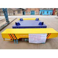 Quality Environmental 30t metallurgy industry apply motorized transfer trolley on railway for sale