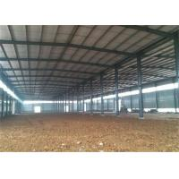 Wholesale Modern Steel Structure Construction Steel Frame Warehouse With Sandwich Panel from china suppliers