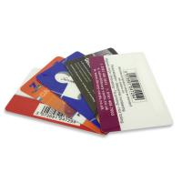 Wholesale Customized PVC Plastic Cards / Barcode Card Matte Surface For Entry HF 13.56 MHz from china suppliers