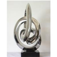 Wholesale Stainless Steel Sculpture Modern Abstract Sculpture For Hotel Decoration from china suppliers