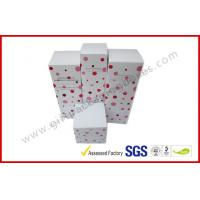 Wholesale Lovely Cosmetic Packaging Boxes / Brand Paper box with White Corrugated Insert from china suppliers
