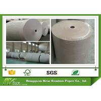 Wholesale 100% recycled Grey Paper Roll folding resistance Support customized cut from china suppliers
