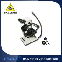 Wholesale Classical base Generation 5th Swing arm type Gem Microscope F07 binocular lens same from china suppliers