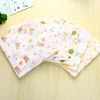 China Wearable Pure Cotton Handkerchiefs Polishing Customized Logo For All Skin Types for sale