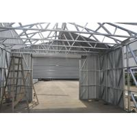Wholesale Fireproof Light Steel Frame Metal Car Shed With Steel Sheet Cladding from china suppliers