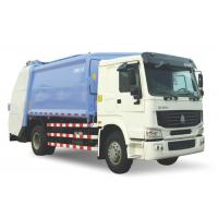 China 6 Wheels Waste Compactor Truck, 4x2 Drive Type Brand New Garbage Truck on sale