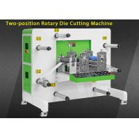 China Round Knife Auto Rotary Die Cut Sticker Machine With Rewinding Function on sale