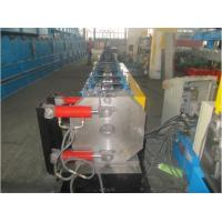 Wholesale Round Shape Stainless Steel Pipe Bending Machine , Gutter Roll Forming Machine PLC Control from china suppliers