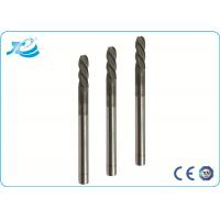 Wholesale 55 / 60 / 65 Hardness Hard Milling End Mill with 50 - 100 mm Overall Length from china suppliers
