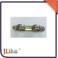 Wholesale 1.0mm 2 Pipe Clamp Galvanized Pipe Clamp Fittings M6x20 Screw from china suppliers