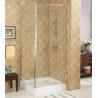 Buy cheap Hinge tempered glass shower doors,unique hinge shower door,tempered shower enclosure from wholesalers