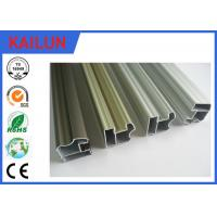 Wholesale 6063 Aluminum Sliding Door Frame , Hollow Silver Anodized Aluminum Structural Framing from china suppliers