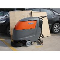 Wholesale Adjustable Non Maintenance Walk Behind Floor Scrubber 1250X660X1150MM from china suppliers