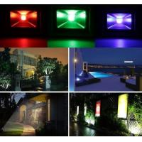 Full Color Outdoor LED Flood Light IP65 , 10W Rgb Led Floodlight