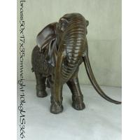 Buy cheap Casting Antique bronze elephant sculpture from wholesalers