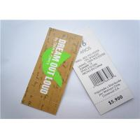 Wholesale Recyclable Clothing Label Tags Jeans Paper Hang Tag Garment Accessory from china suppliers