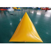 Wholesale Triangle Shape Yacht Race Market Inflatable Buoys For Water Triathlons Advertising from china suppliers