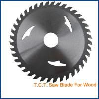 Buy cheap Circular Wood Cutting TCT Saw Blade woodworking tct band saw blade CTB005N from wholesalers
