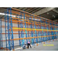 Wholesale Blue and Orange Adjustable Pallet Racking from china suppliers