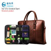 Wholesale Nylon Travel GRID Gadget Organizer For Digital Devices 28*21 Cm from china suppliers