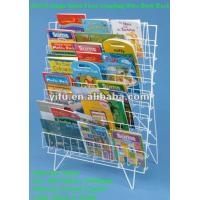 Wholesale Single Sided Floor Standing Wire Book Rack from china suppliers