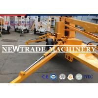 Wholesale Skyscraping Tower 6-17m Trailer Mounted BoomLift / Tow Behind Towable Boom Lift from china suppliers