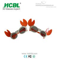 Wholesale Funny PC Frame Cinema 3D Glasses 3D Eyewear For Baby , Eco - Friendly from china suppliers