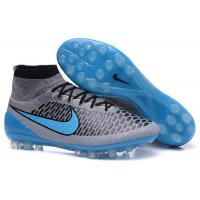 Wholesale Obra Turquoise Football Superfly Soccer Shoes , Black Soccer Cleats from china suppliers