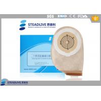 Wholesale Excretion Colon Surgery Stoma Colostomy Bag With Velcro Closure , Non Woven Material from china suppliers