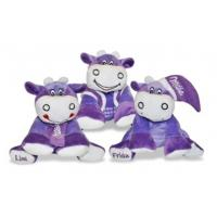 Wholesale Purple Stuffed Milk Cow Animal Promotional Gifts Toys 8 Inch CE Standard from china suppliers