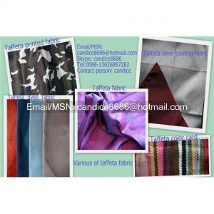 China Taffeta fabric on sale