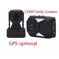 Wholesale Black Portable Body Worn Video Camera For Security , Small Hd Body Camera from china suppliers