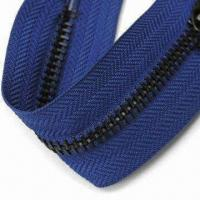 Wholesale Zipper Made of Metal, Customized Lengths are Accepted, with Slider from china suppliers