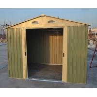 Wholesale Sunor Nature Steel Garden Sheds , Movable 10x12 / 10x8 / 10x10 Metal Garden Sheds from china suppliers