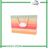 Wholesale Logo Printed Recycled Paper Shopping Bags Cardboard / Craft Paper from china suppliers