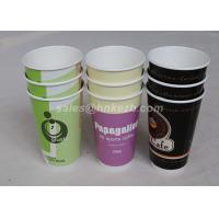 Wholesale 16oz - 22oz Disposable Hot Beverage Cups , To Go Coffee Cups With Lids For Drinking from china suppliers