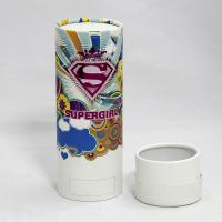 Wholesale Moisture-proof Colorful Cylindrical Paper Can Packaging for Underwear and T-shirt from china suppliers