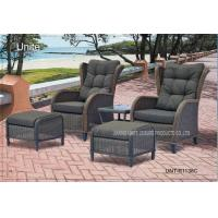 Buy cheap Comfortable Outdoor Rattan Chairs Patio Furniture Sets For Two Person from wholesalers