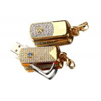 Wholesale Rotatable Jewelry USB Flash Drive, High Speed USB Memory Stick With Customized Logo from china suppliers