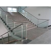 Wholesale Stainless Steel Guardrail Mirror Surface Stainless Steel Handrail With Glass from china suppliers