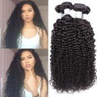 "Wholesale Peruvian Kinky Curly Peruvian Virgin Remy Human Hair Soft Touching 10"" - 30"" from china suppliers"
