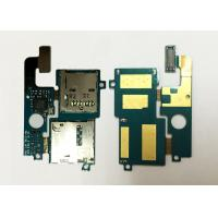 Wholesale Samsung E210L Mobile Spare Parts Genuine SIM SD Card Holder Flex Cable With Connector from china suppliers