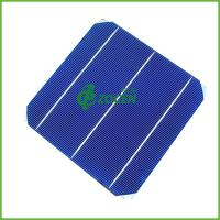 """Wholesale 6x6"""" N Type 3 Busbar Thin Film Monocrystalline Solar Cells With 4.15-4.47w from china suppliers"""