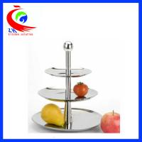 Wholesale Wedding Display Buffet Restaurant Equipment Decorative Fruit / candy cake display stand from china suppliers