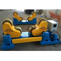 Wholesale 30 T High Tensile Steel Self Aligned Welding Rotator Roller Bed With PU Wheels from china suppliers