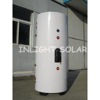 Wholesale Color Steel Solar Water Heater Tank With 400 Liter Capacity , Double Copper Coil from china suppliers