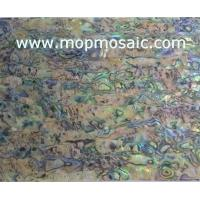 Buy cheap Heart New zealand abalone shell laminate sheet from wholesalers