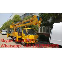 Wholesale Hot sale 16m overhead working truck from china suppliers